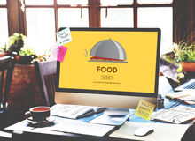 Food Eating Dining Diet Restaurant Nutrition Concept Royalty Free Stock Photos