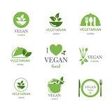 Food Emblems Stock Photos