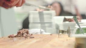 Food festival stock video