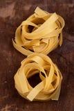 Food - Fettucine Nests Stock Images