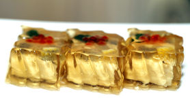 Food fish aspic Royalty Free Stock Photography