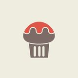 Food Flat Icon Stock Photography