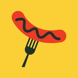 Food Flat Icon Stock Image
