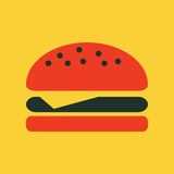 Food Flat Icon Royalty Free Stock Photo