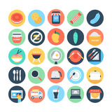 Food Flat Vector Icons 11 Stock Photos