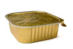 Food foil container Stock Images
