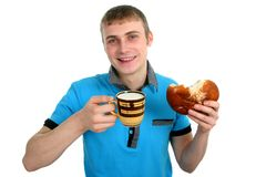 Food For Men Royalty Free Stock Image