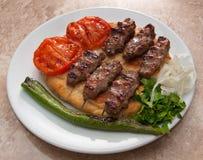 Food.Kebab Stock Photos