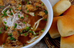 Food From The Philippines, Batchoy Utak Stock Images