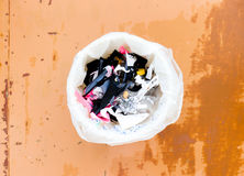The food Garbage. Royalty Free Stock Photography
