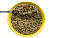 Food green herb lentils Royalty Free Stock Photo
