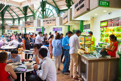 Food hall Singapore Stock Images