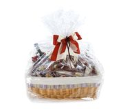 Food hamper Stock Photo