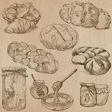 Food - hand drawn vector pack. Royalty Free Stock Photography