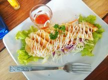 Food. In hatyai have a cheez Royalty Free Stock Photo