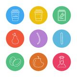 Food, health , nutrious , healthy , eps icons set vector. Food, health , nutrious , healthy , icon, vector, design, flat, collection, style, creative, icons royalty free illustration