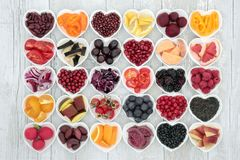 Food For Healthy Eating Stock Photography