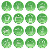 Food icon stock illustration