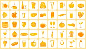 Food Icon Royalty Free Stock Image