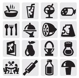 Food icon Royalty Free Stock Images