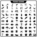 Food Icon. Vector illustration of complete set of food icon Stock Photography