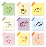 Food icon Royalty Free Stock Photography