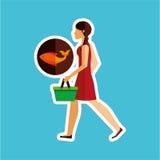 Food icon design Royalty Free Stock Photos