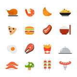 Food icon. Flat full colors design. Royalty Free Stock Photography
