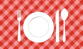 Food icon, food symbol. Vector Royalty Free Stock Photos