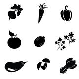 Food icon, food symbol vector Stock Photography