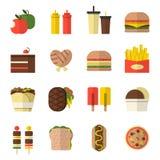 Food icon. Set design, vector Stock Photo