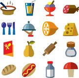 Food icon Stock Photography