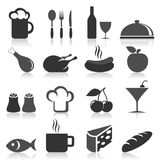 Food icon9 Stock Images