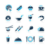 Food Icons - 2 // Azure Series Stock Photography