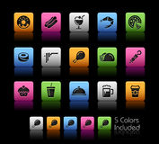 Food Icons - Set 2 // Color Box Stock Images