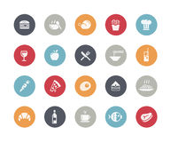 Food Icons - Set 1 of 2 // Classics Stock Images