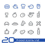 Food Icons - Set 1 of 2 // Line Series Stock Photo