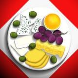 Food illustration. Royalty Free Stock Photos