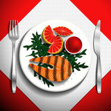 Food illustration. Royalty Free Stock Photography