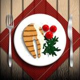 Food illustration. Royalty Free Stock Photo