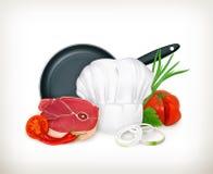 Food illustration Stock Photography