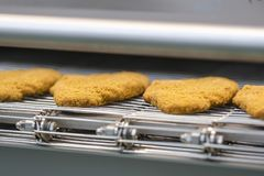 Food industry equipment. For semi-finished meat food royalty free stock image