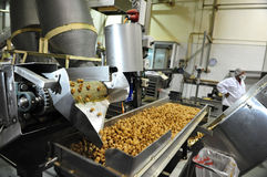 Food industry. SDEROT, ISR - AUG 11: Food factory on Aug 11 2009.Processed food sales worldwide are approximately US$3.2 trillion (2004