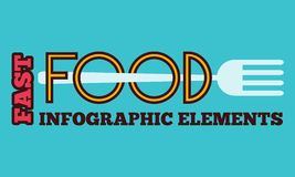 Food Infographic Element Stock Photos