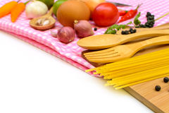 Food ingredient and copy space Stock Photo