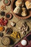 Food Ingredient mixture Royalty Free Stock Image