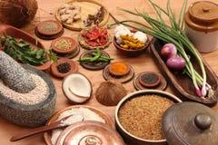 Food Ingredient mixture Stock Photography