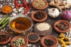 Food Ingredient mixture Royalty Free Stock Photos