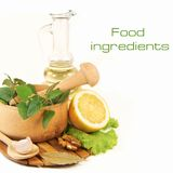 Food ingredients Royalty Free Stock Photo