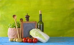 Food ingredients,cooking concept Stock Photos